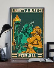 LGBT Liberty and Justice for all 24x36 Poster lifestyle-poster-2