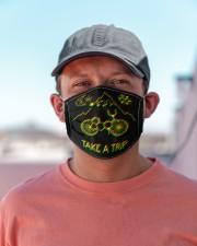 Take A Trip Cloth face mask aos-face-mask-lifestyle-06