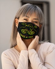 Take A Trip Cloth face mask aos-face-mask-lifestyle-17