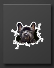 Funny dog breaking glass Sticker - Single (Vertical) aos-sticker-single-vertical-lifestyle-front-08