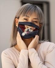 Corgi Back Cloth Face Mask - 3 Pack aos-face-mask-lifestyle-17