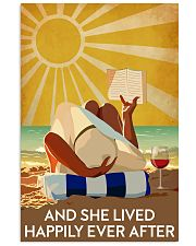 Reading And She Lived Happily Ever After 24x36 Poster front