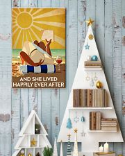 Reading And She Lived Happily Ever After 24x36 Poster lifestyle-holiday-poster-2