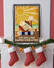 Reading And She Lived Happily Ever After 24x36 Poster lifestyle-holiday-poster-4