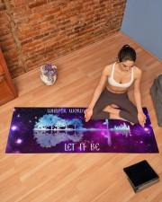 Let It Be Yoga Mat 70x24 (horizontal) aos-yoga-mat-lifestyle-19