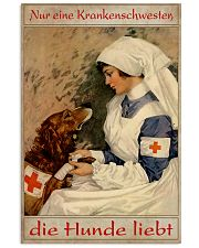 Just A Nurse Who Loves Dogs 24x36 Poster front