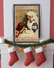 Just A Nurse Who Loves Dogs 24x36 Poster lifestyle-holiday-poster-4