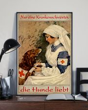 Just A Nurse Who Loves Dogs 24x36 Poster lifestyle-poster-2