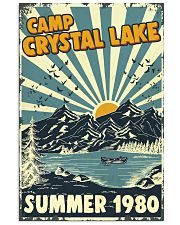 Retro Camp crystal lake Summer 1980 24x36 Poster front