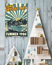 Retro Camp crystal lake Summer 1980 24x36 Poster lifestyle-holiday-poster-2