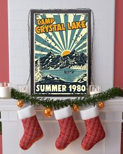Retro Camp crystal lake Summer 1980 24x36 Poster lifestyle-holiday-poster-4