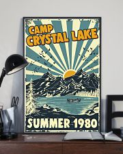 Retro Camp crystal lake Summer 1980 24x36 Poster lifestyle-poster-2