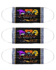 I Can't Smell Children Because Of Wearing Mask Cloth Face Mask - 3 Pack front