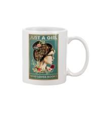 Just a girl who loves books Mug tile