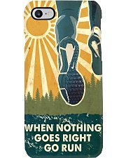 When Nothing Goes Right Go Run Phone Case i-phone-8-case