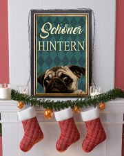 Pug Nice Butt 24x36 Poster lifestyle-holiday-poster-4