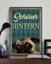 Pug Nice Butt 24x36 Poster lifestyle-poster-2