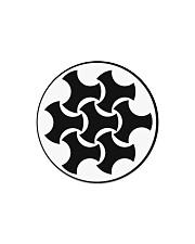Celtic Button Knot Circle Magnet thumbnail