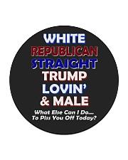 President Donald Trump Graphic hot trend 2019 Circle Coaster thumbnail