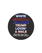 President Donald Trump Graphic hot trend 2019 Circle Magnet thumbnail