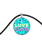 I Love Cats Necklaces Cord Circle Necklace thumbnail