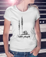 I hate people  Ladies T-Shirt lifestyle-women-crewneck-front-7