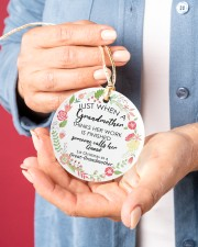 Great-Grandmother Special Circle ornament - single (porcelain) aos-circle-ornament-single-porcelain-lifestyles-01