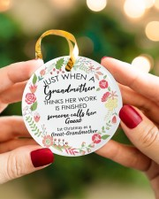 Great-Grandmother Special Circle ornament - single (porcelain) aos-circle-ornament-single-porcelain-lifestyles-08