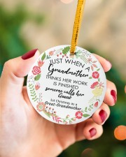 Great-Grandmother Special Circle ornament - single (porcelain) aos-circle-ornament-single-porcelain-lifestyles-09