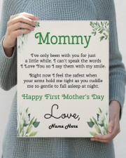 Mommy First Mother's Day 11x14 Gallery Wrapped Canvas Prints aos-canvas-pgw-11x14-lifestyle-front-40