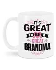 Great to be a Great-Grandma Mug back