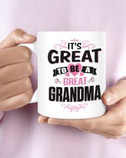 Great to be a Great-Grandma Mug ceramic-mug-lifestyle-27