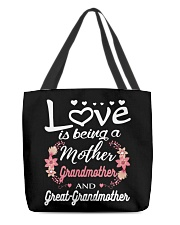 Great-Grandmother Special  All-over Tote back