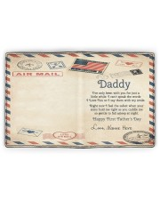 Daddy First Father's Day Men's Leather Wallet full