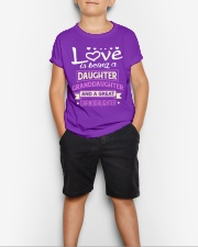 GREAT-GRANDDAUGHTER Youth T-Shirt lifestyle-youth-tshirt-front-1