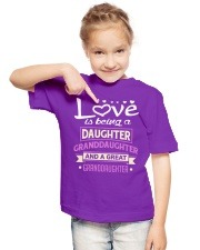 GREAT-GRANDDAUGHTER Youth T-Shirt lifestyle-youth-tshirt-front-2