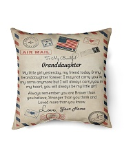 """To My Beautiful Granddaughter Indoor Pillow - 16"""" x 16"""" front"""