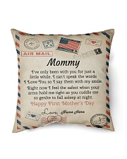 """Mommy First Mother's Day  Indoor Pillow - 16"""" x 16"""" front"""
