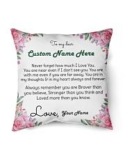 "Family Custom Names Indoor Pillow - 16"" x 16"" front"