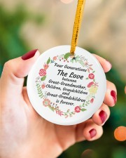 Great-Grandparents Special Circle ornament - single (porcelain) aos-circle-ornament-single-porcelain-lifestyles-09
