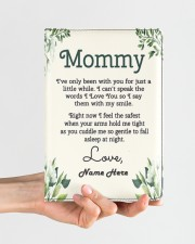Mommy First Mother's Day Medium - Leather Notebook aos-medium-leather-notebook-lifestyle-front-01