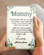 Mommy First Mother's Day Medium - Leather Notebook aos-medium-leather-notebook-lifestyle-front-04