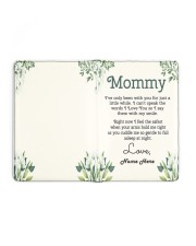 Mommy First Mother's Day Medium - Leather Notebook full
