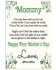 Mommy First Mother's Day Vertical Poster tile