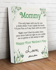 Mommy First Mother's Day 11x14 Gallery Wrapped Canvas Prints aos-canvas-pgw-11x14-lifestyle-front-14