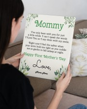 Mommy First Mother's Day 11x14 Gallery Wrapped Canvas Prints aos-canvas-pgw-11x14-lifestyle-front-36