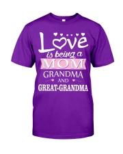 Great-Grandma Special Classic T-Shirt tile