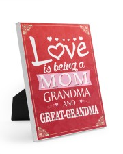 Great-Grandma Special Easel-Back Gallery Wrapped Canvas tile