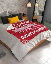 """Great-Grandma Special Sherpa Fleece Blanket - 50"""" x 60"""" aos-sherpa-fleece-blanket-lifestyle-front-02"""