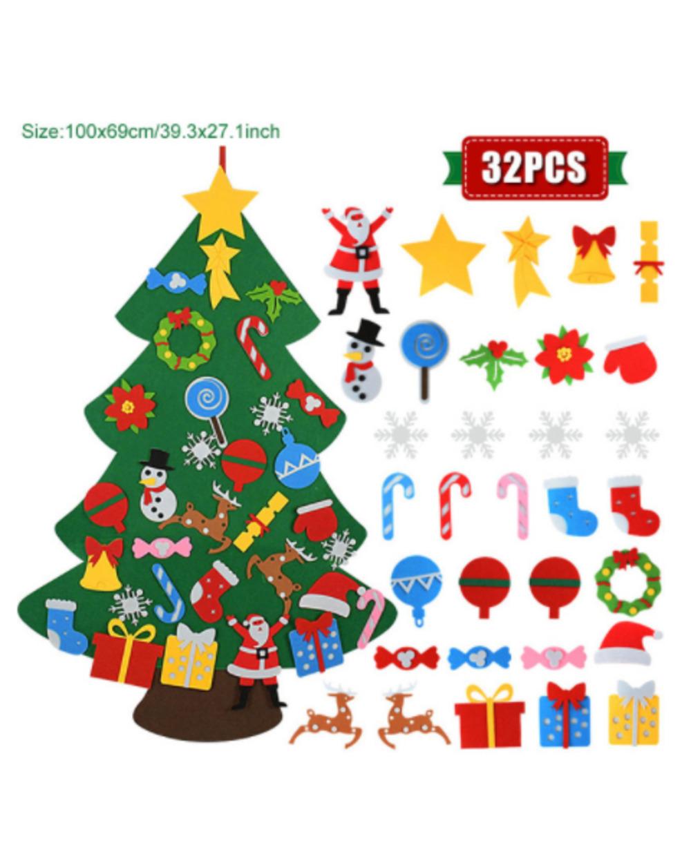 The Felt Christmas Tree Felt Christmas Tree 1